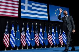 obama in greece